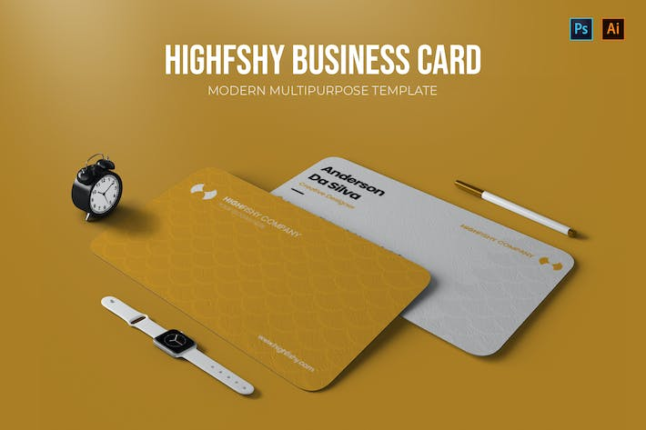 Thumbnail for Highfishy Company - Business Card