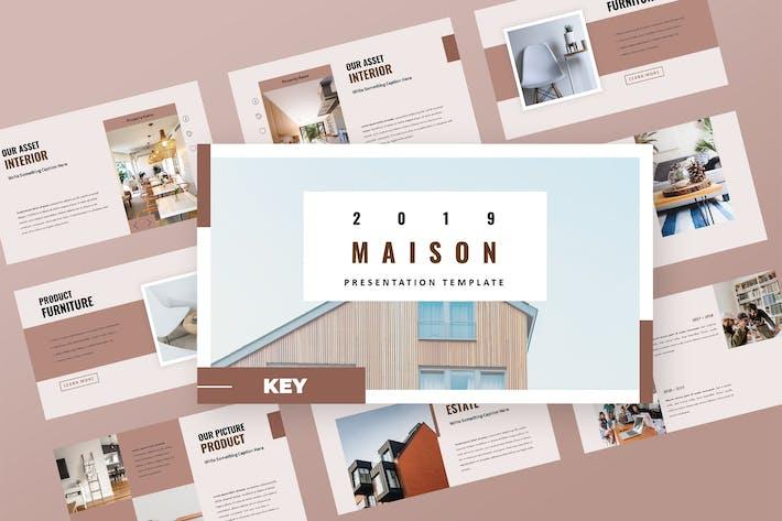 Thumbnail for Maison - Property Agency Keynote Presentation