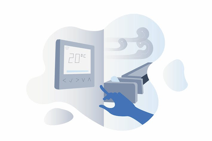 Thumbnail for Smarthome Air Conditioning Illustration
