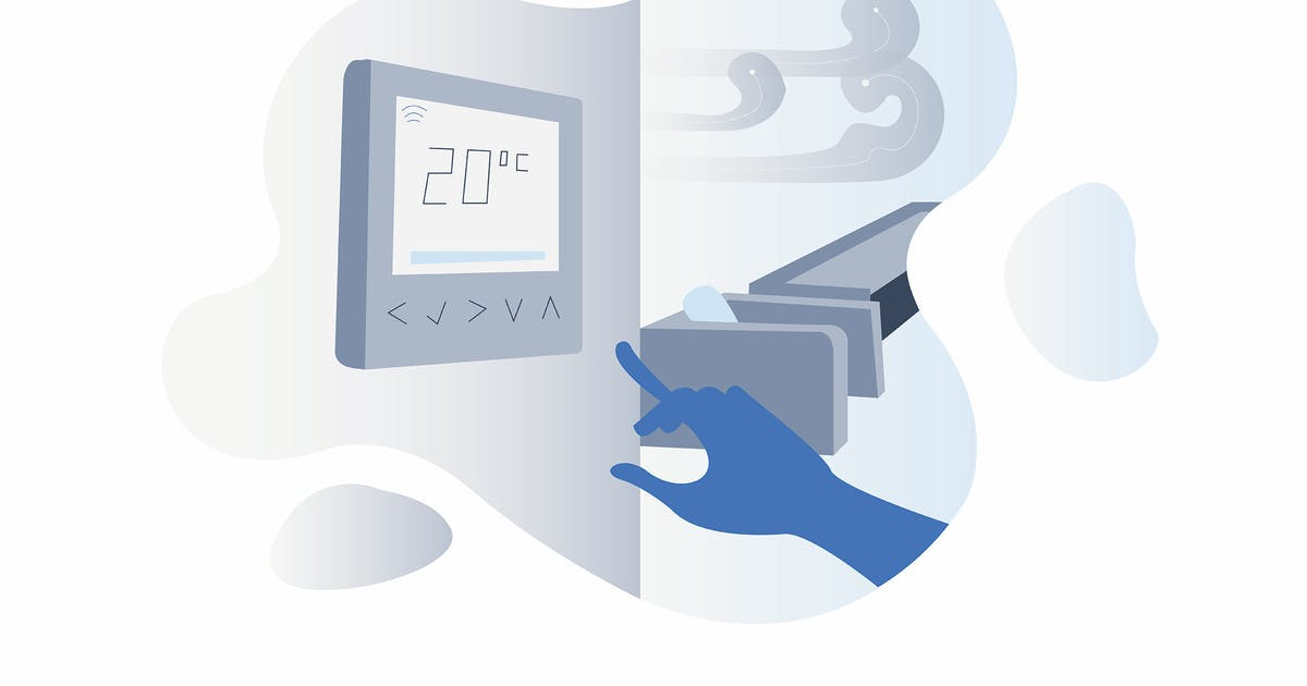 Download Smarthome Air Conditioning Illustration by angelbi88