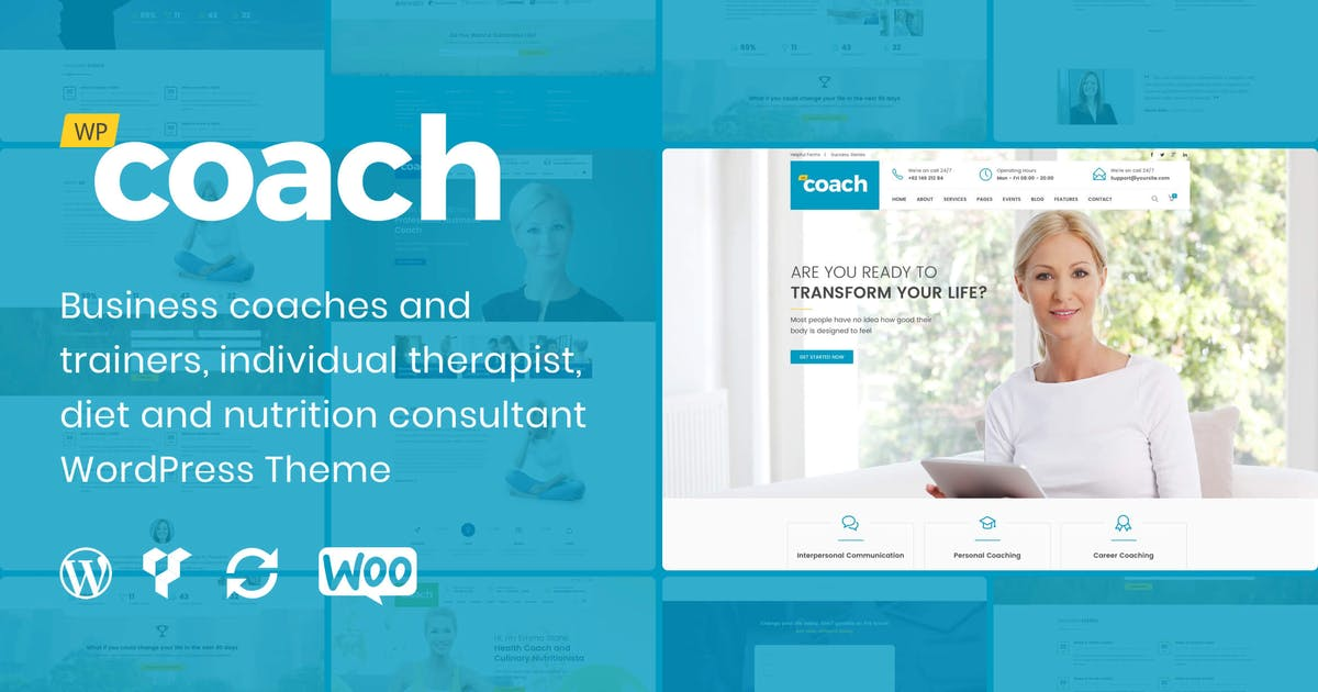 Download WP Coach Premium WordPress Theme by deTheme