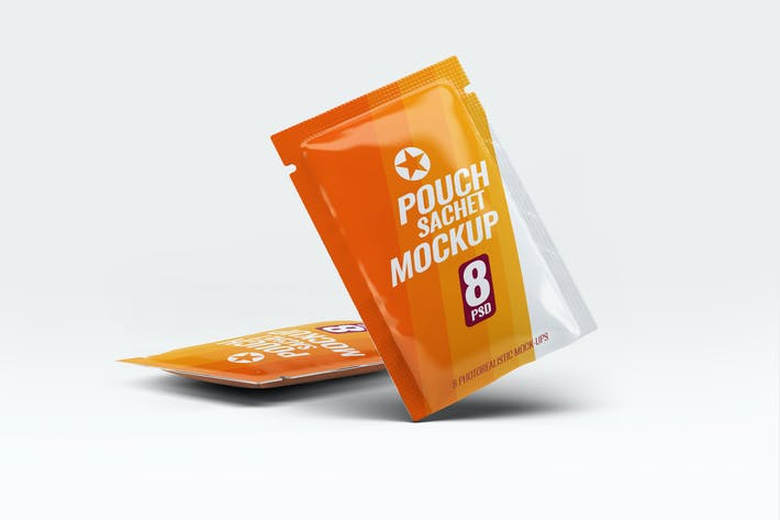 Thumbnail for Pouch Sachet Mock-Up
