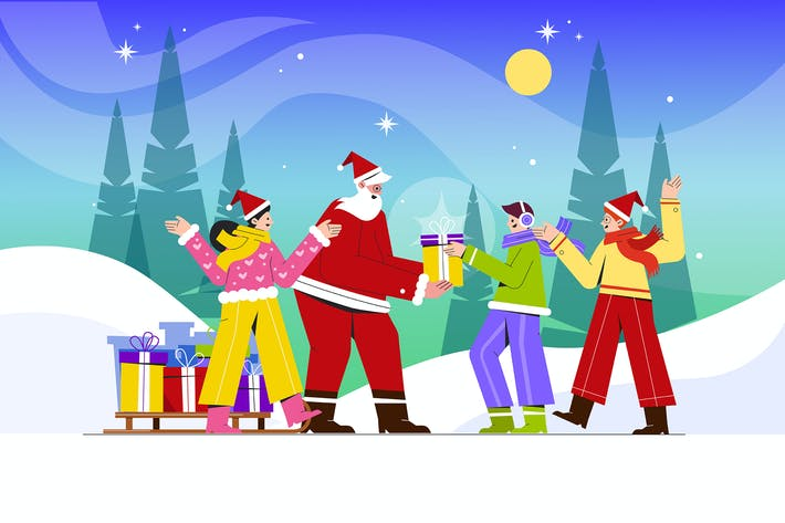 Thumbnail for Санта дарит специальные подарки детскому