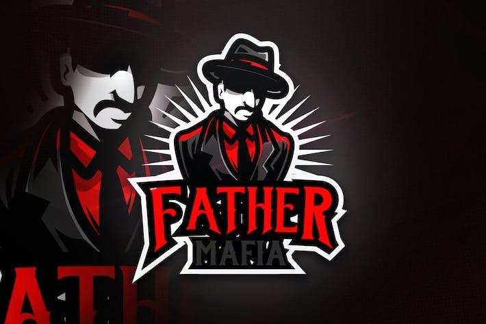 Thumbnail for Father Mafia - Mascot & Esport Logo
