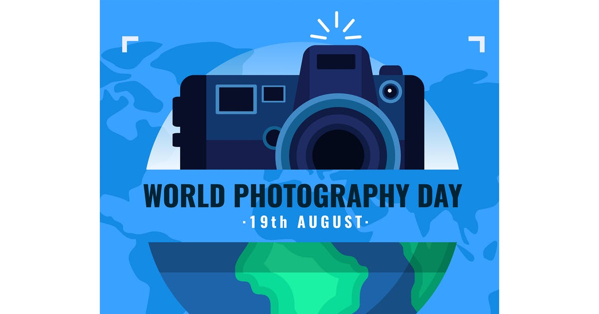 Download Flat World Photography Day by MissChatZ