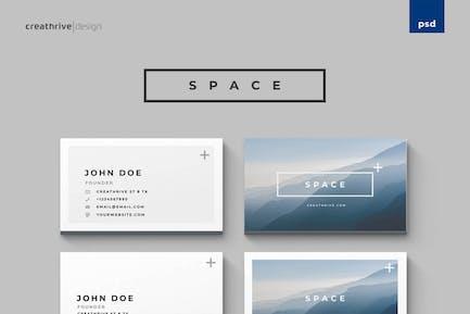 Cartes d'espace