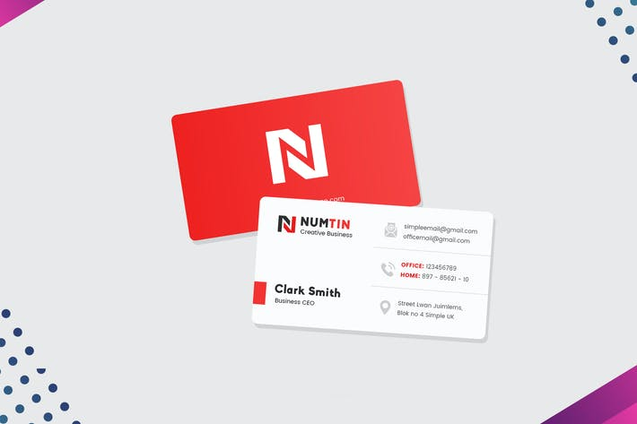 Thumbnail for Modern Visiting Card For Business Man