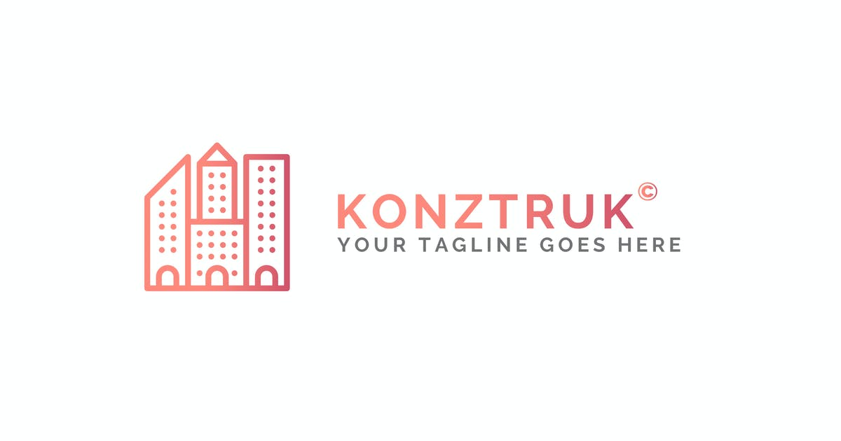 Download Konztruk - Architecture Logo Template by ThemeWisdom