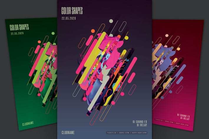 Thumbnail for Color Shapes Flyer