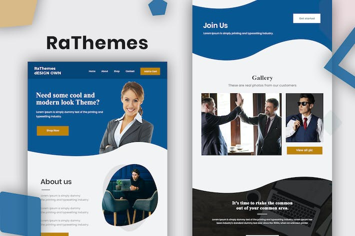 Thumbnail for RaThemes - Email Template