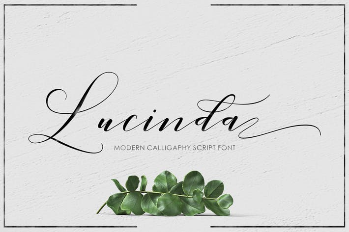 Cover Image For Lucinda Script