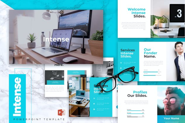 INTENSE - Business Powerpoint Template