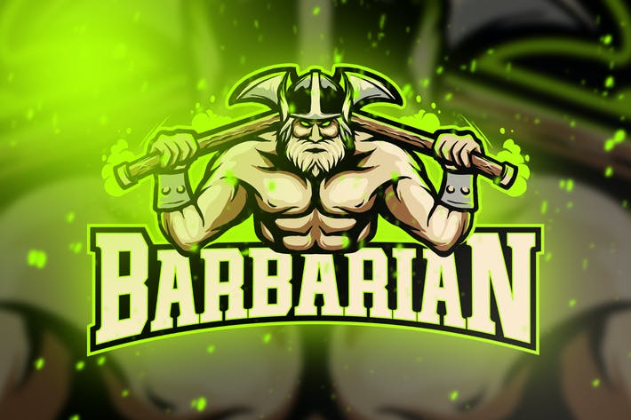 Thumbnail for Viking Esport Logo Vol. 3