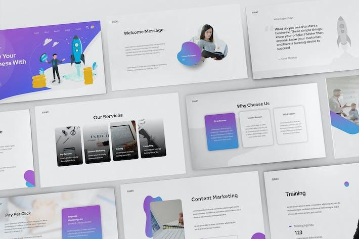 Thumbnail for SEO & Digital Marketing Google Slides