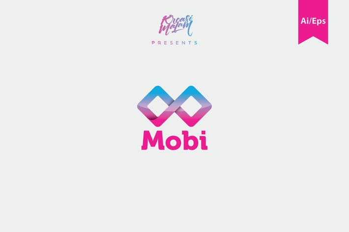 Thumbnail for Mobi Logo Template