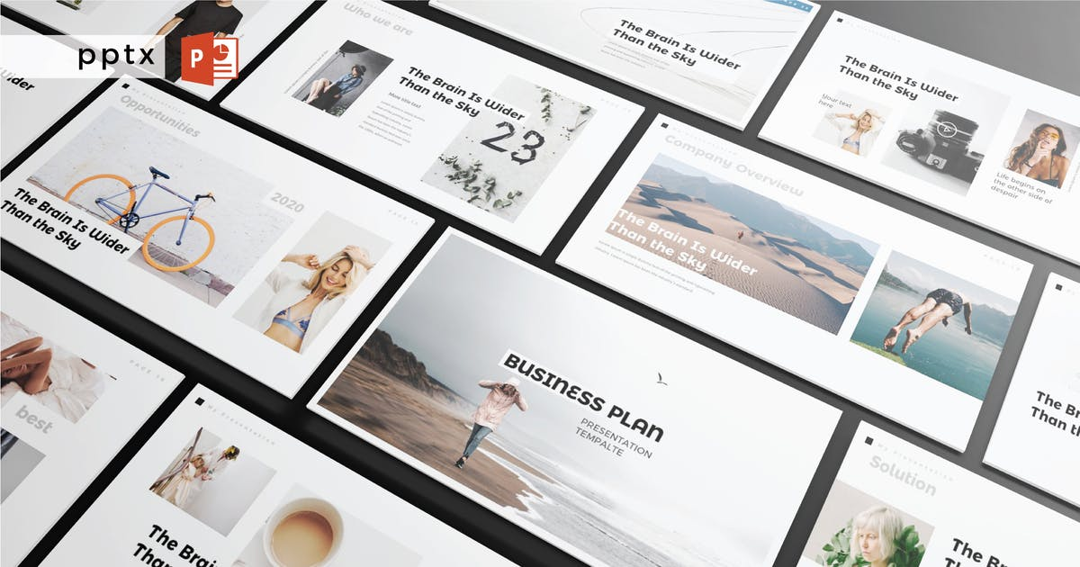 Download BUSINESS PLAN - Multipurpose Powerpoint  V228 by Shafura