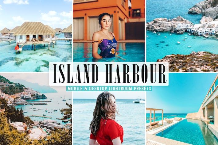 НаПресеты Lightroom для мобильных и настольных ПК Island Harbour