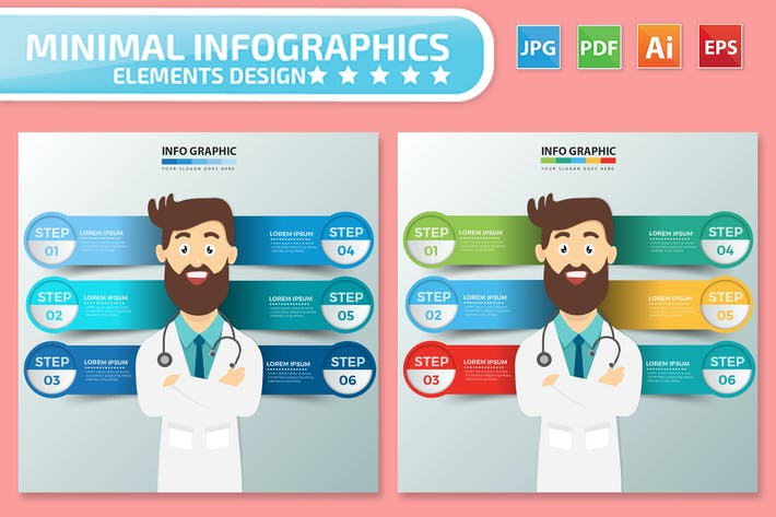 Thumbnail for Doctor Infographics