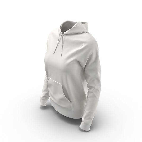 Thumbnail for Female Fitted Hoodie Worn