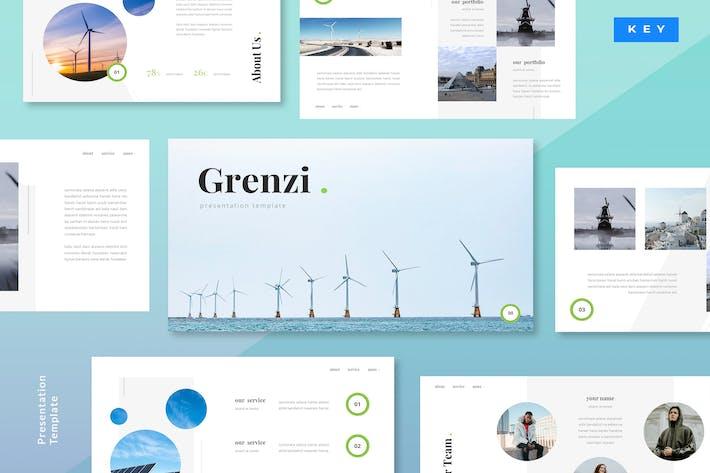 Thumbnail for Grenzi - Renewable Energy Keynote Template
