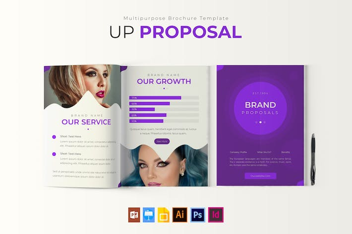 Thumbnail for Up | Proposal Template
