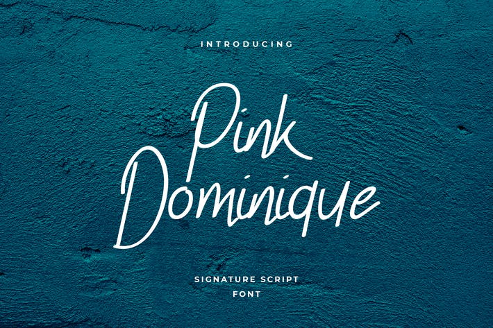 Thumbnail for Pink Dominique Signature