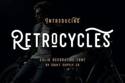 Retrocycles Font