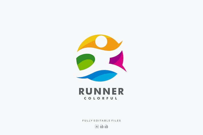 Thumbnail for Logo coloré Runner