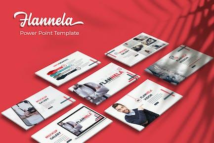 Flannela - PowerPoint Template