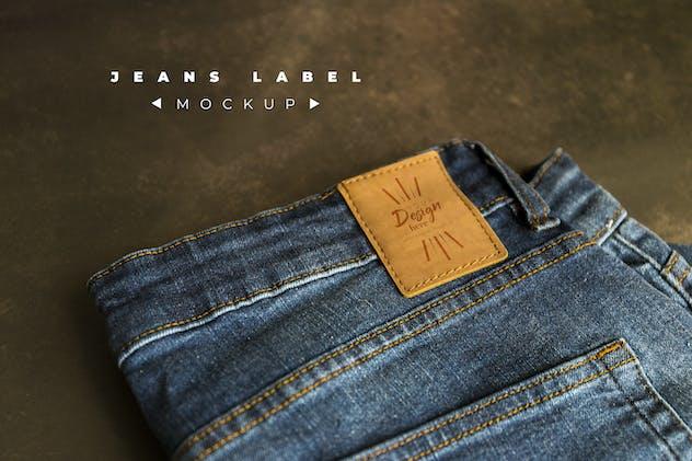 Jeans Label Mockup