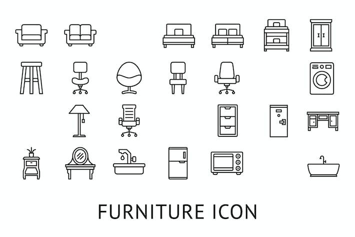 Thumbnail for Furniture Icon