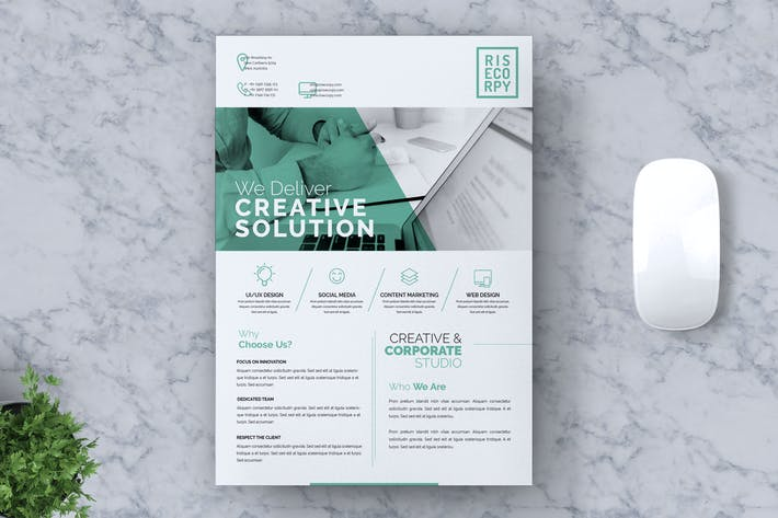 Thumbnail for Creative Corporate Flyer Vol. 06