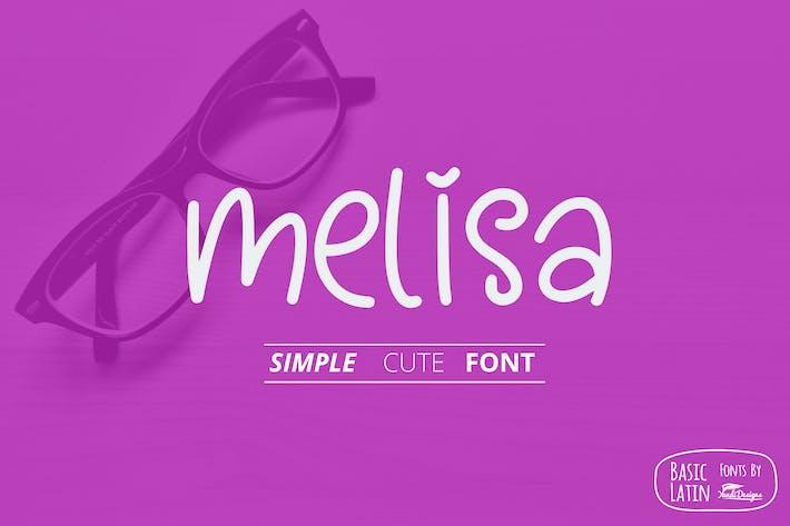Thumbnail for Melisa Fun Font