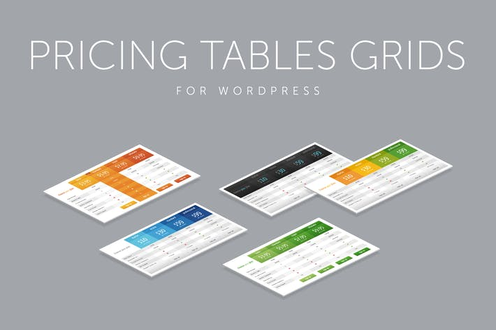 Thumbnail for Pricing Tables Grids for WordPress