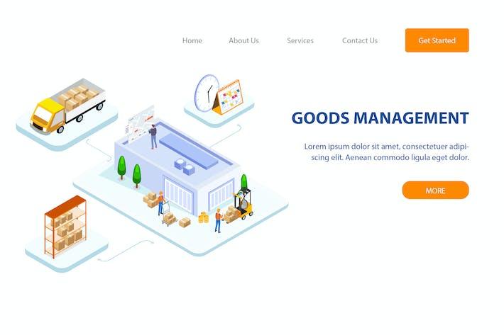 Thumbnail for Goods Management Isometric - FV