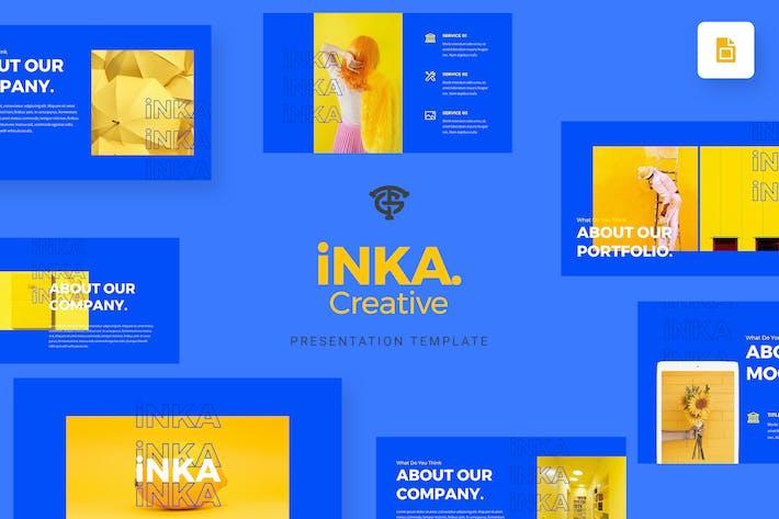 Cover Image For iNKA Creative - Google Slides
