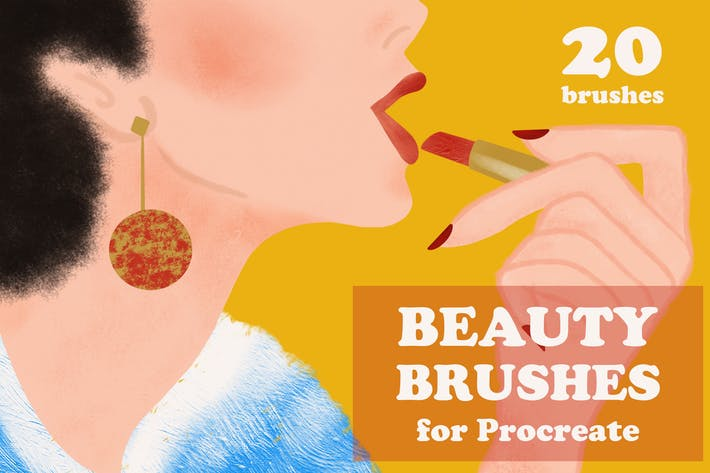 Cover Image For Beauty Brushes for Procreate