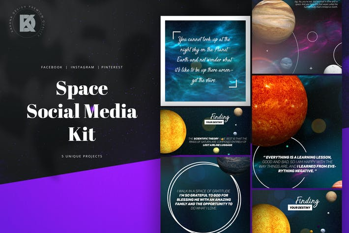 Thumbnail for Space Social Media Kit
