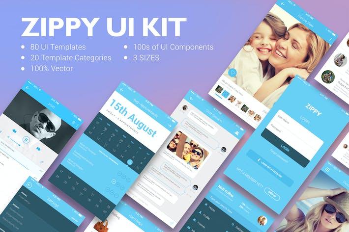 Thumbnail for Zippy UI Kit