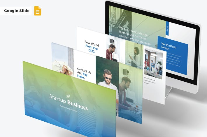 Thumbnail for STARTUP BUSINESS - Google Slide V423