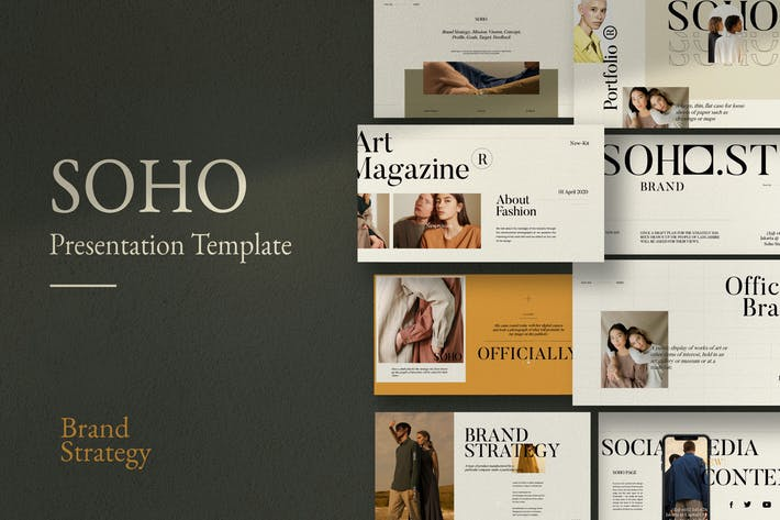 Soho - Creative  Marketing Powerpoint