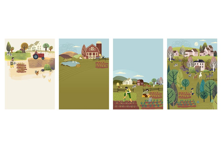 Agricultura ecológica, agricultura y jardinería