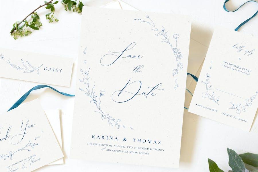 Elegant Wildflower Wedding Suite
