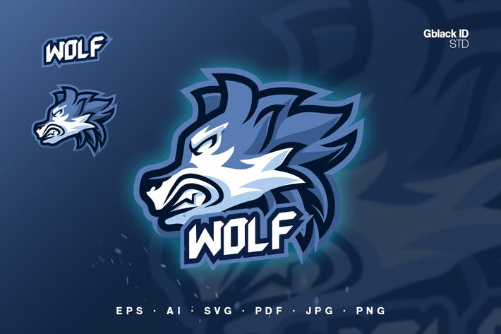 Thumbnail for Wolf Mascot