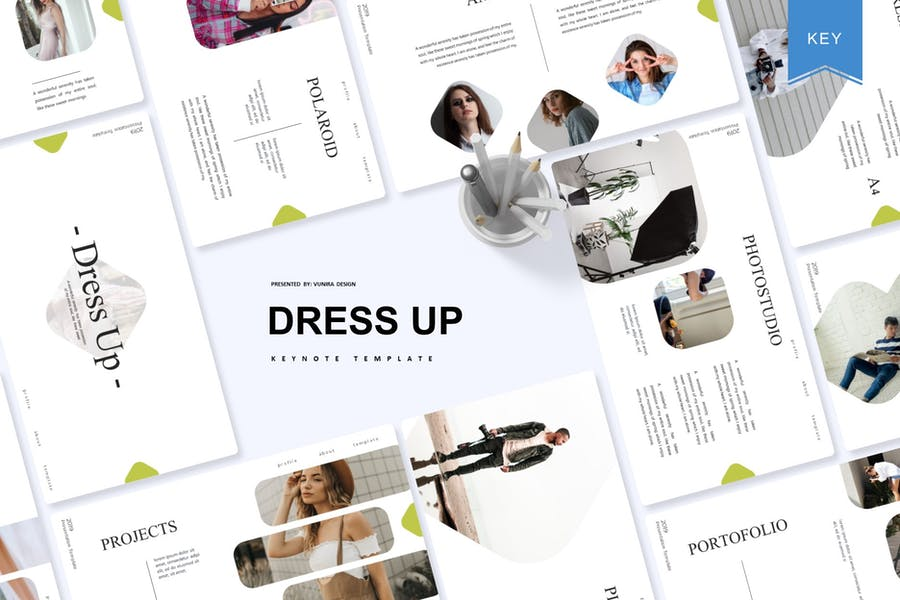 Dress Up   Keynote Template