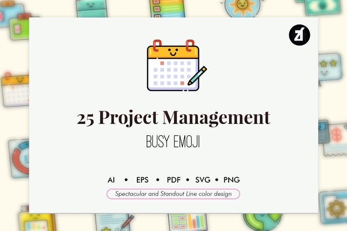 Thumbnail for 25 Project management elements