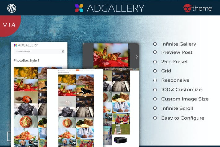 Thumbnail for AD Gallery - Premium Wordpress Plugin