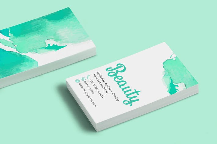 "Business Card ""Beauty"""