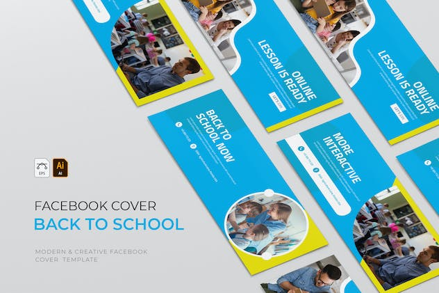 Back To School | Facebook Cover