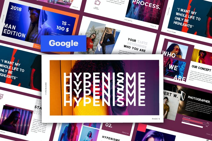 Thumbnail for Hypenisme Creative Google Slide
